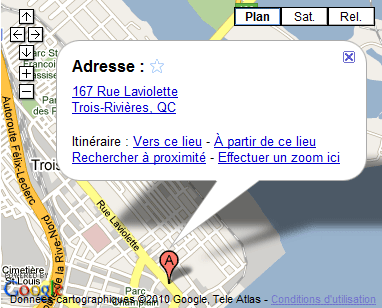 Google Map Art Lesabord